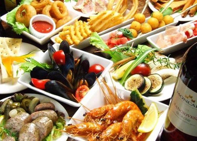 料理自慢のバーでスポーツ観戦「京橋ヘブンズキッチン」