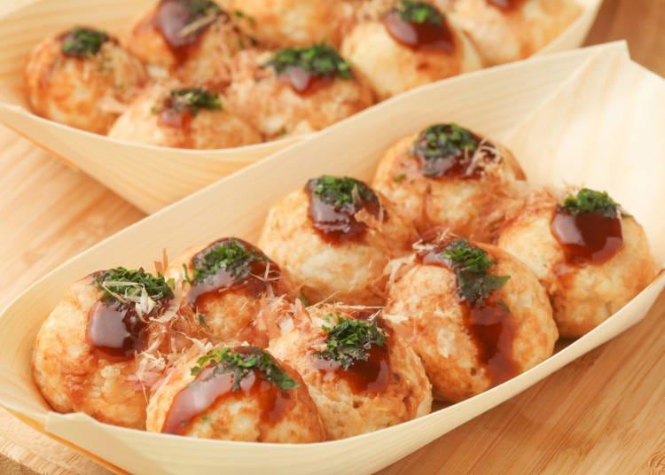 1. Cute Looking Takoyaki is Delicious!