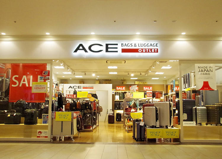 A Favorite for Shoppers Visiting Japan, ACE OUTLET