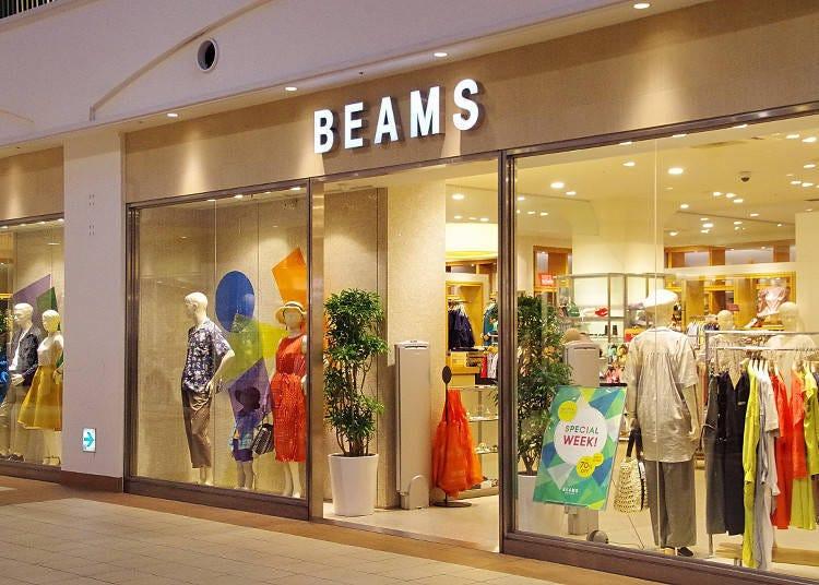 상품의 다양함이 자랑인 'BEAMS OUTLET'