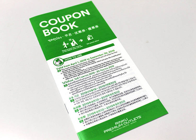 Rinku Premium Outlets Tip: Don't Forget Your Passport for Additional Discounts!