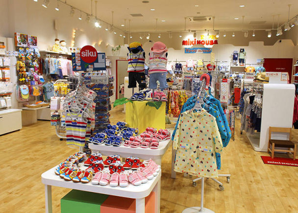 Great Discounts for Children and on Adult Clothes at Mitsui Outlet Park Shiga Ryuo!