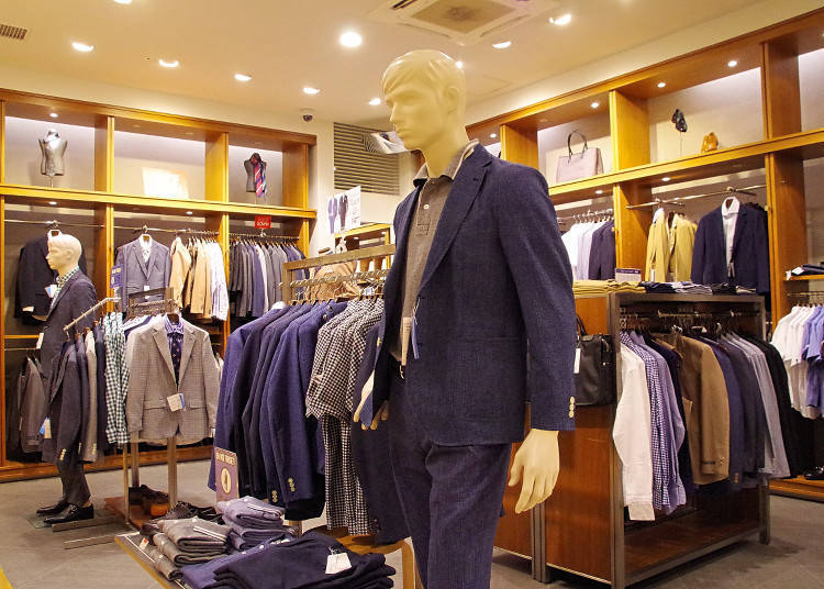 Mitsui Outlet Park Marine PIA Kobe: From Casual to Business, Stores with a Wide Selection of Items