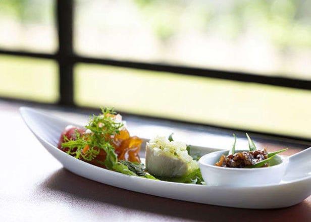 교토 다카세가와 강변'이치노후나이리'에서 절경과 함께 맛보는 창작요리