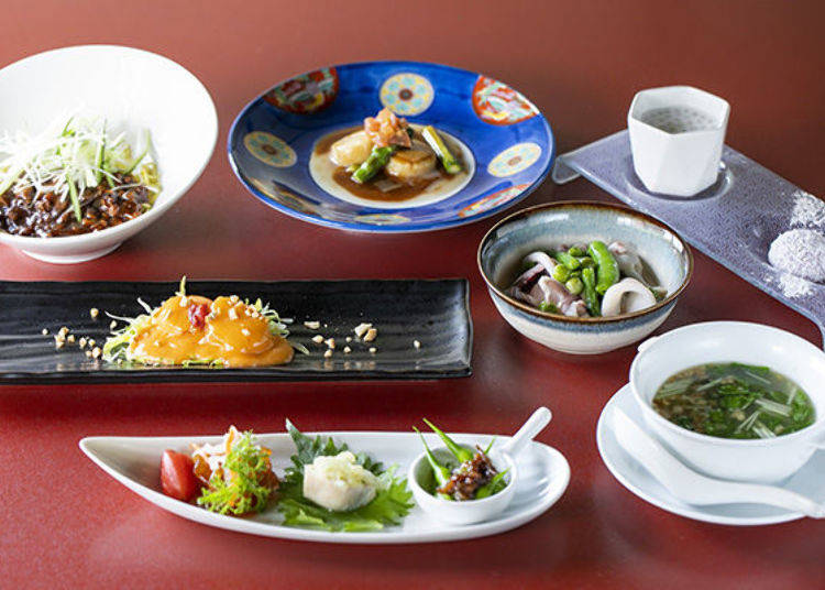 Ishoku Doyo = delicious dishes for both body and mind