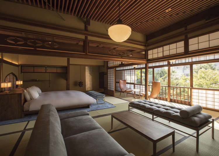 You can also reserve a visit to a temple! Sowaka is a truly Kyoto-esque hotel