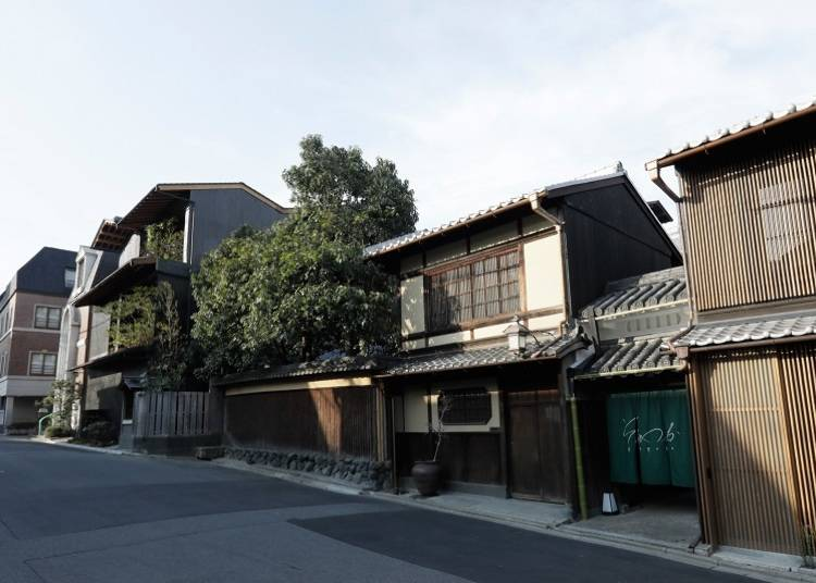 The Higashiyama area is also a convenient base for traveling around Kyoto.