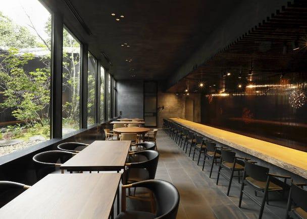 レストランで新しい日本料理体験