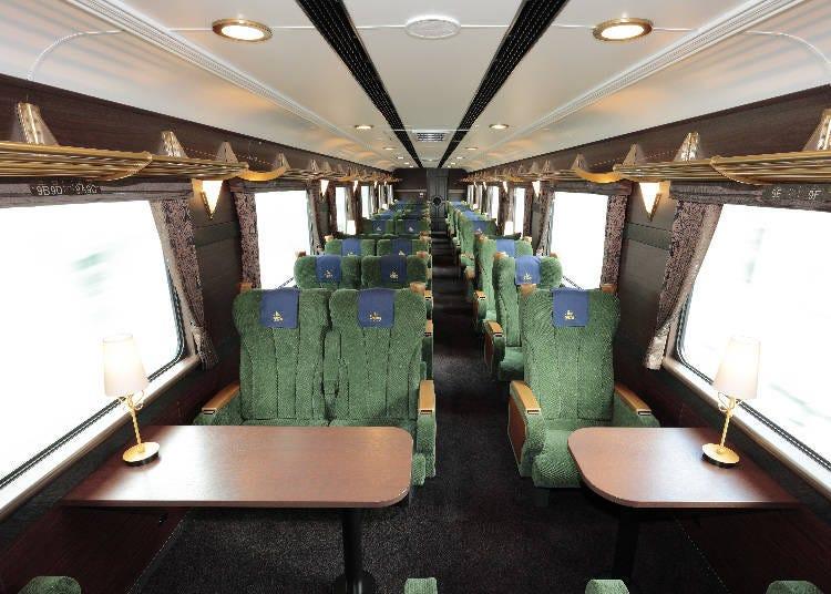 沿線観光もおまかせの列車旅