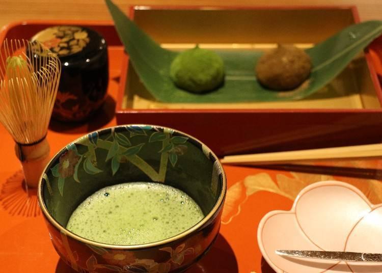 야마토 말차&코후쿠모치로 일본의 전통 디저트를 만끽