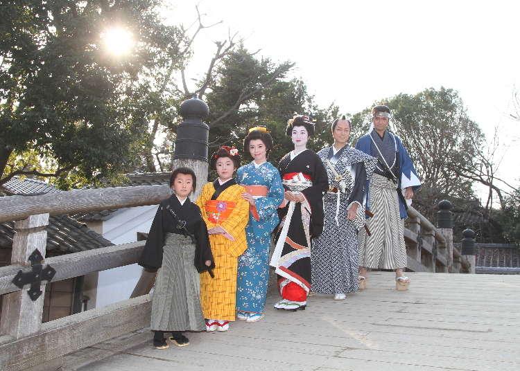 Slip through time into the Edo period at Toei Dazai Film Village