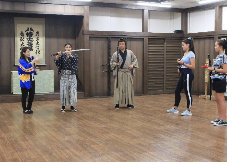 You are now a samurai!
