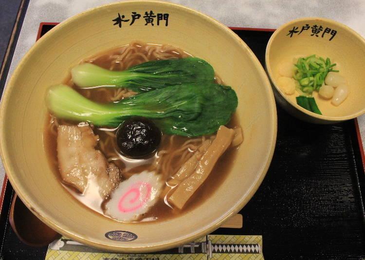Dining at Toei Kyoto Studio Park: Original gourmet!