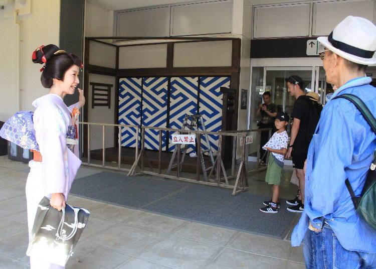 一同參加東映太秦電影村的「村內導覽」吧!