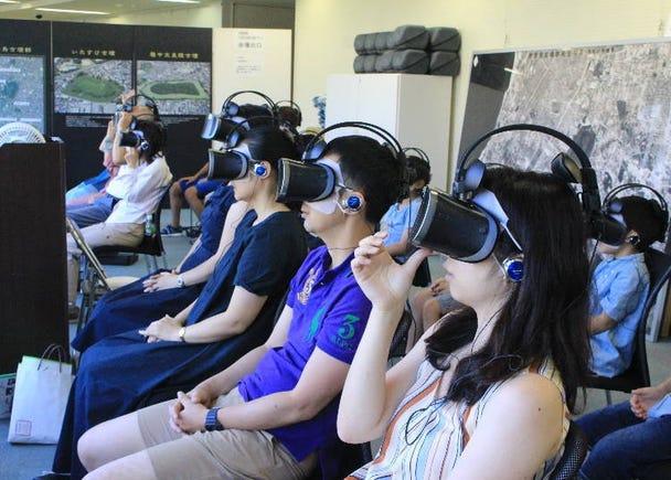 Go inside the Mozu Tombs - take a virtual tour at Sakai City Museum