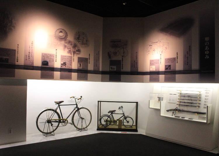 ちなみに…日本で唯一の自転車博物館も!