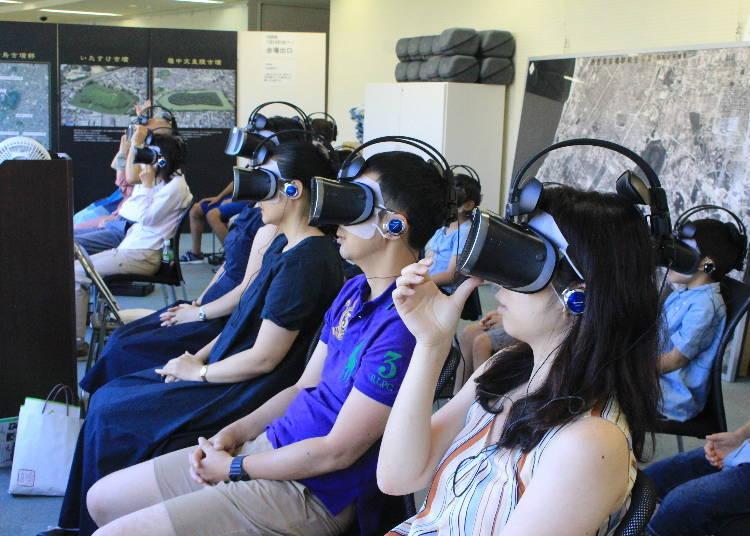 若是想一探古墳的內部,就來參加博物館的VR之旅吧。