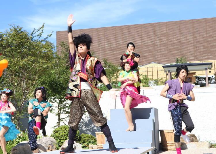関西最大級の温泉型テーマパーク「空庭温泉」