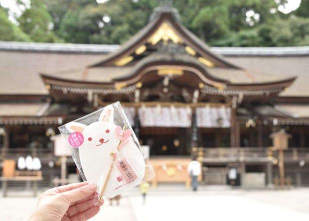在日本最古老的奈良「大神神社」能量充電!用可愛的小兔子結緣祈願