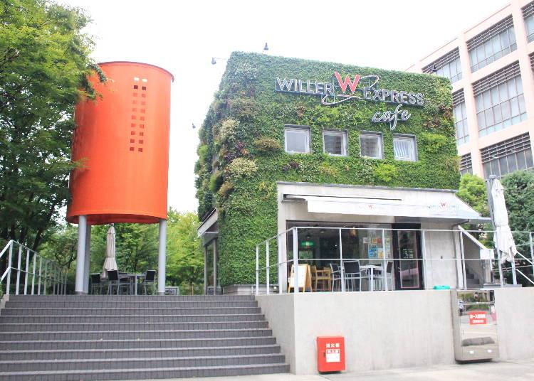 バス会社直営の「WILLER EXPRESS CAFE」