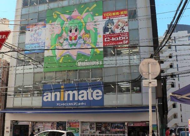 Animate Osaka Nippombashi - The largest in western Japan!