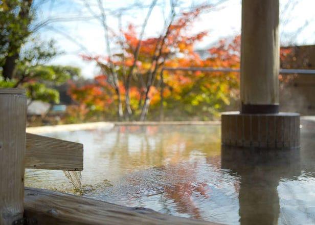 湯の山温泉 グリーンホテルで紅葉を見ながら入る温泉が最高すぎる!