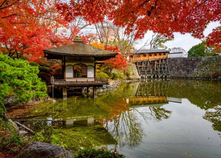 8.秋の季節が最も美しい、その名も「紅葉渓庭園」【和歌山】