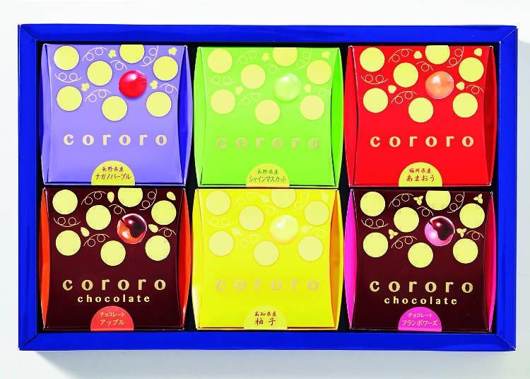 就像是真實果實般的新口感軟糖「cororo」