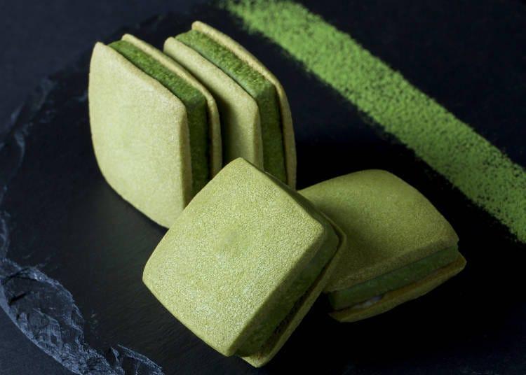 可以嚐到濃厚抹茶的餅乾 「中村藤吉總店 茶Colate」