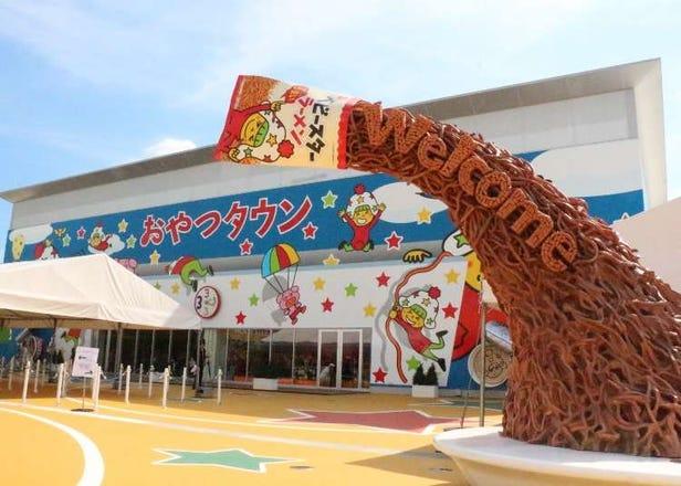 미에현에 새로 오픈한 따끈따끈한 테마파크! '오야츠 타운'에서 신나게 놀고, 배우고, 즐겨보자!