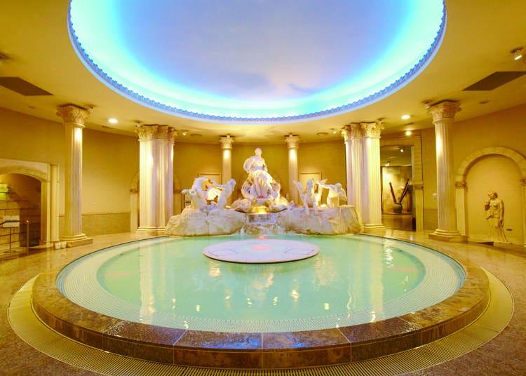 まずは世界各国の温泉へGO!