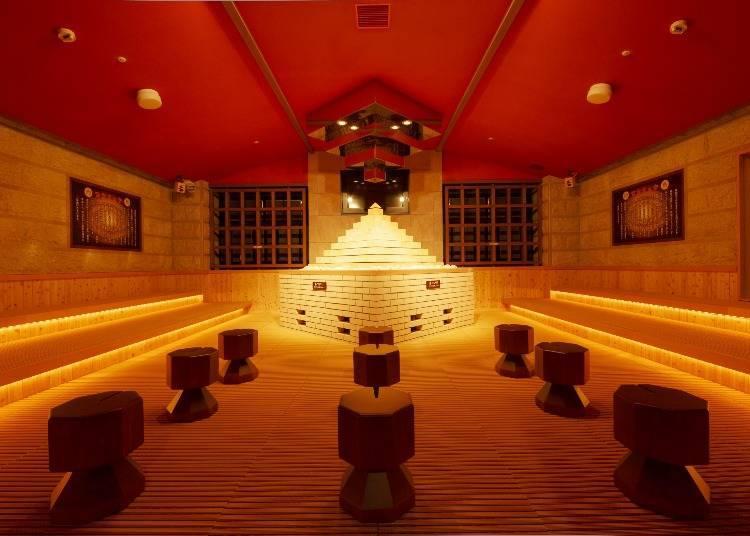 「Spa World 世界大溫泉」的岩盤浴也有8種國家風格!