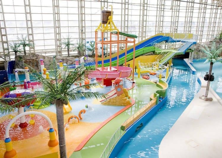「Spa World 世界大溫泉」一年四季皆可玩樂的超人氣「SPA Pool」