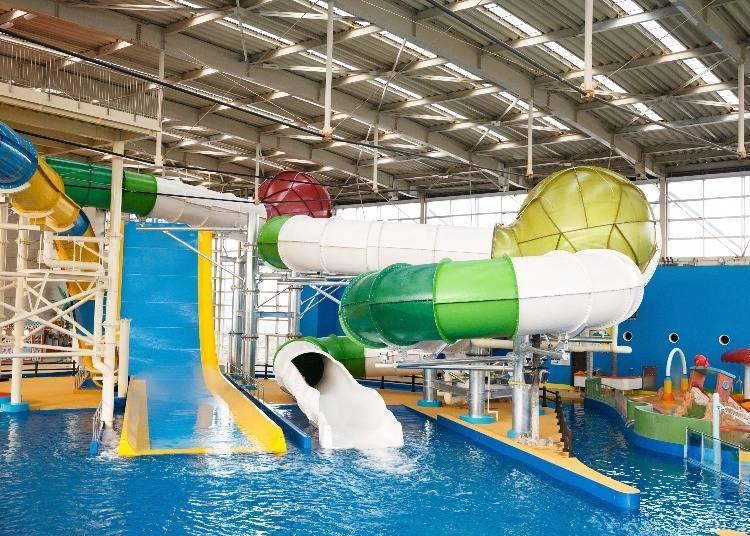 來挑戰「SPA Pool」熱門人氣的滑水道吧!