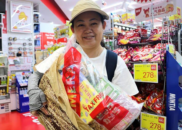 Convenient souvenir shopping at Bic Camera Namba!