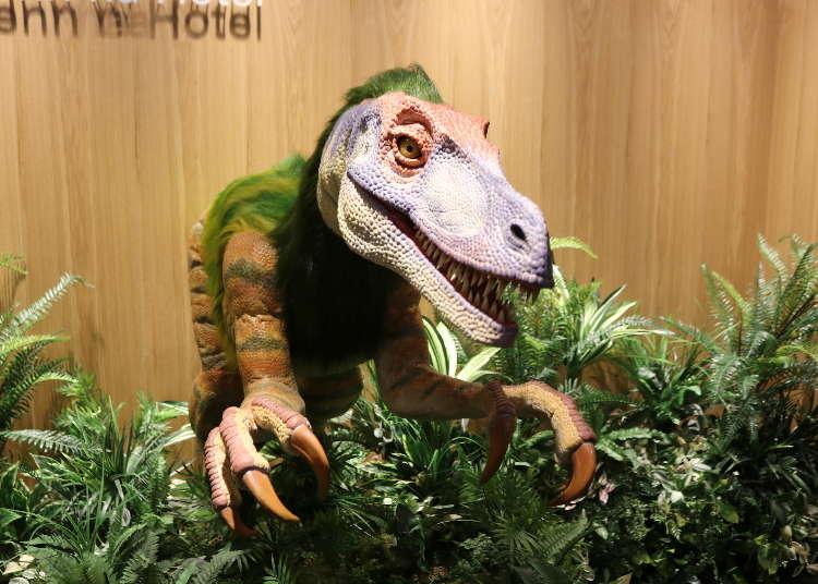 ロボットがおもてなし!大阪の「変なホテル」に泊まってみない?