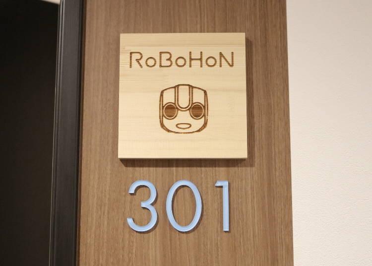 The fun Robohon room!