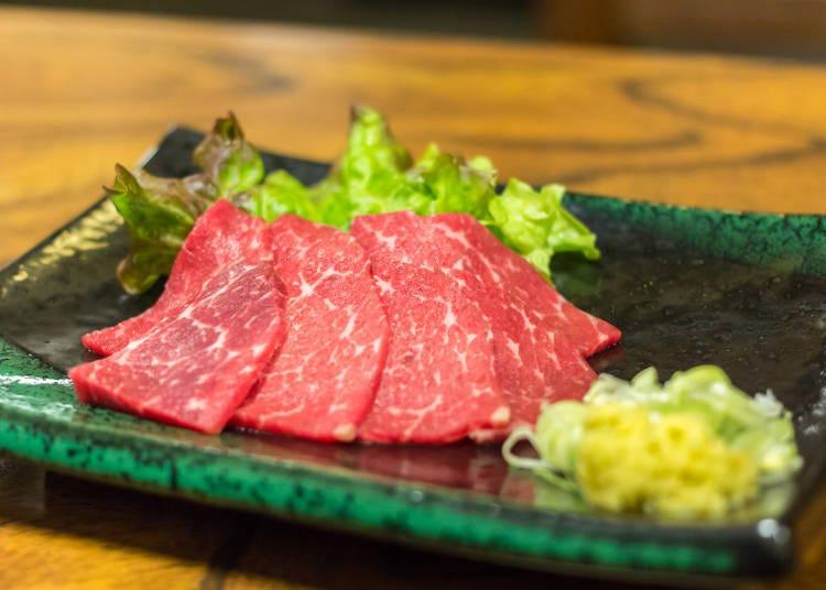 Basashi: A challenging dish