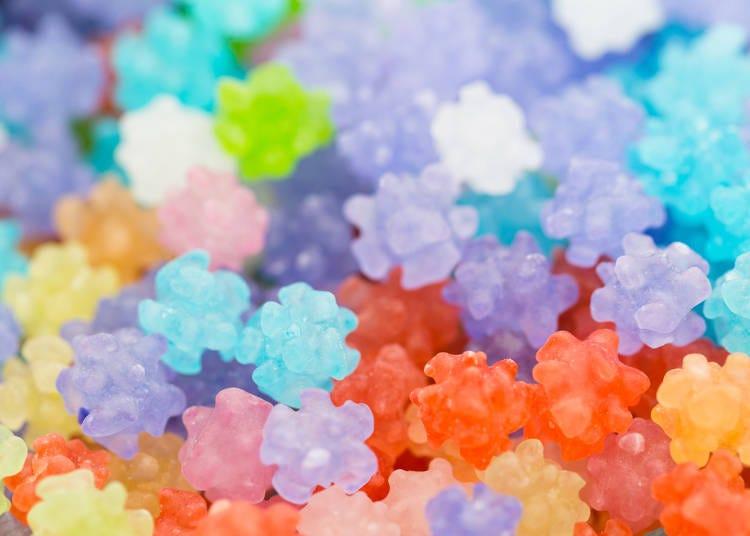 色彩繽紛可愛!「金平糖」