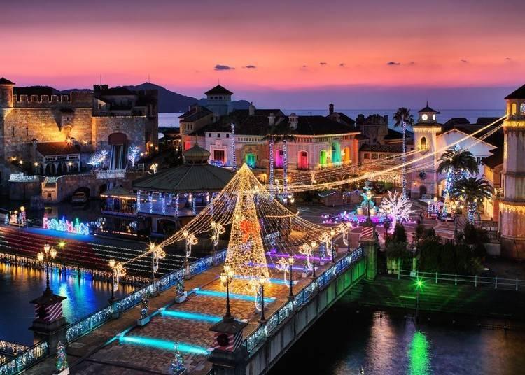 4. 以HAPPY HOLIDAYS 為主題的「和歌山遊艇城」光之慶典【和歌山】