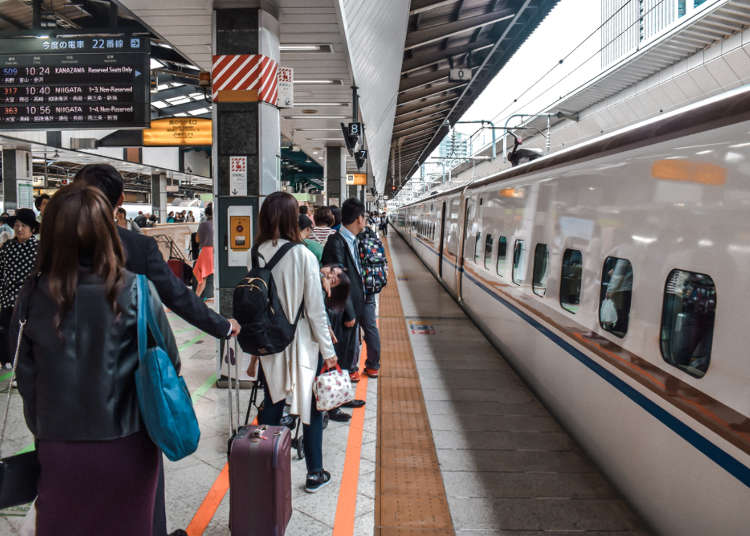 Japan Bullet Train Travelers Beware! 2020 Shinkansen Luggage Rules and Reservations