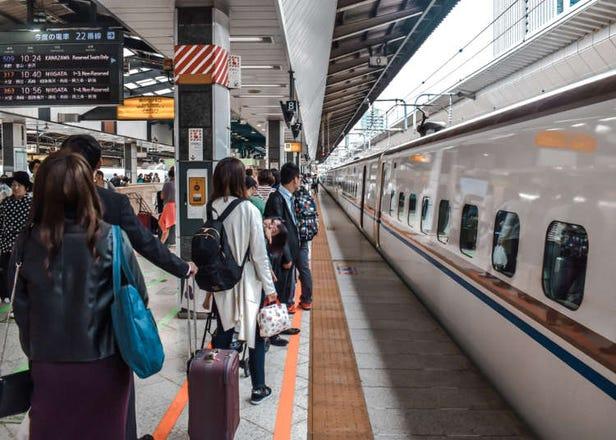 2020年搭乘日本新幹線要注意!想帶大型行李上車「需要預約」