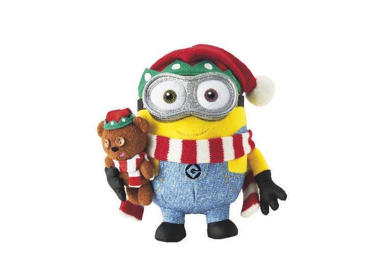 大人気のミニオングッズ!クリスマス仕様の「ボブとティムのぬいぐるみ」