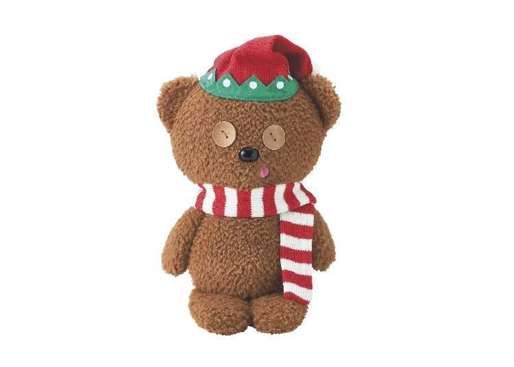 人気上昇!クリスマスコスチュームがキュートな「ティムのぬいぐるみ」