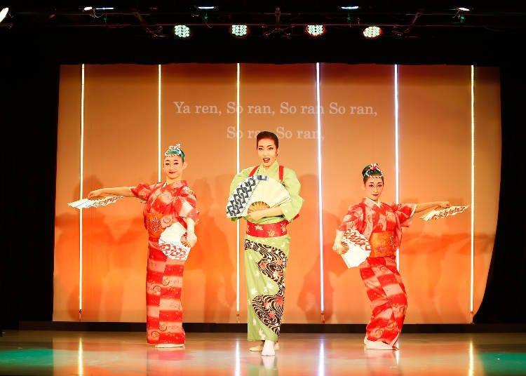 무대에서 펼쳐지는 아름다운 일본의 세계관