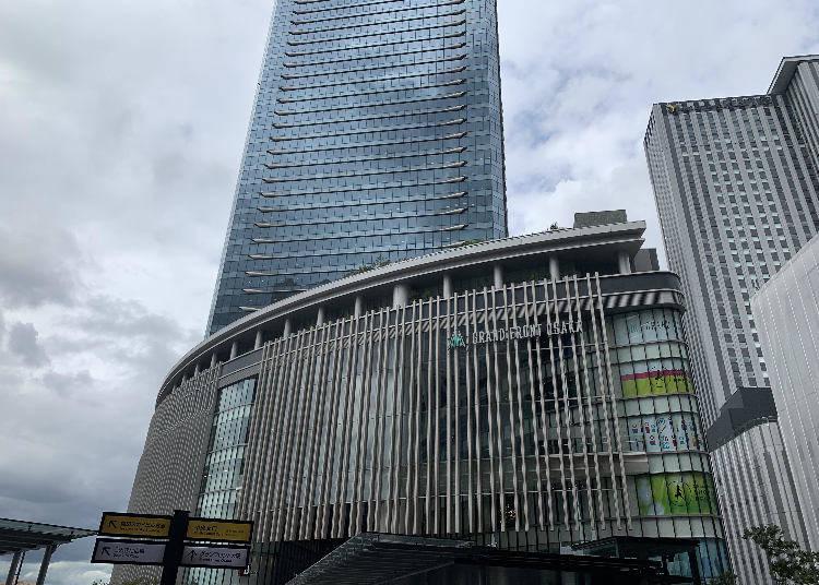 巨大複合商業施設「グランフロント大阪」でショッピングを(所要時間:60分~)