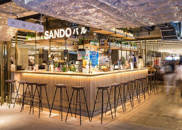 '교토타워 SANDO'에서 체험과 쇼핑타임 (소요시간: 60~120분)
