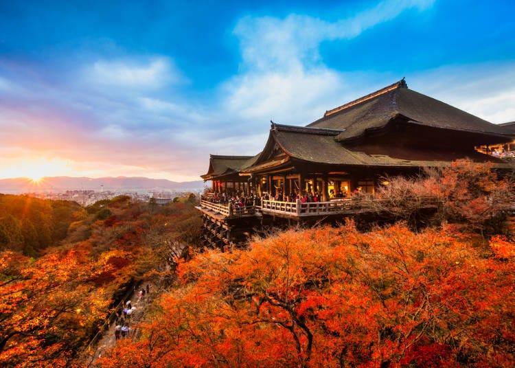 1. Kiyomizu-dera Temple