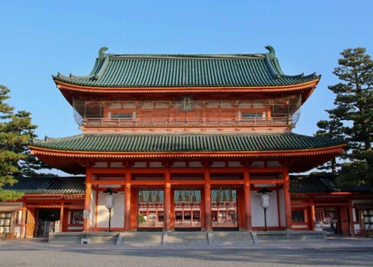 4. 平安神宫(京都市左京区)