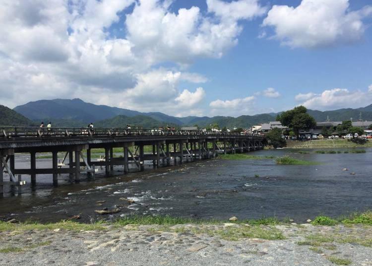 Day 2: Leisurely day out at Kyoto's famous mountain, Arashiyama  (Togetsu Bridge ➡ Nonomiya Shrine ➡ Arashiyama Bamboo Forest ➡ Tenryuji Temple ➡ Lunch at Saga Tofu Ine ➡ High Tea at eX cafe)